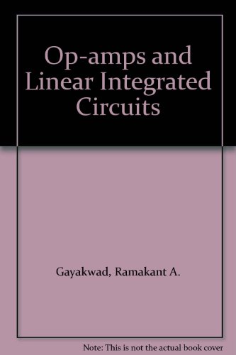 9780136371588: Op-amps and Linear Integrated Circuits