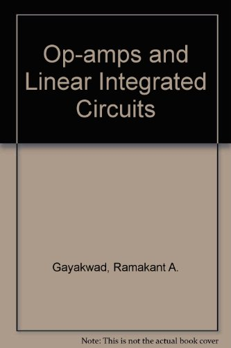 9780136371748: Op-amps and Linear Integrated Circuits
