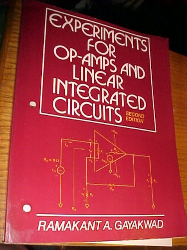 9780136371823: Experiments for Op-Amps and Linear Integrated Circuits