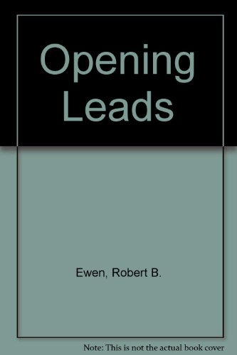 9780136373636: Opening Leads