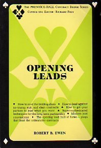 9780136373711: Opening Leads (The Prentice-Hall Contract Bridge Series)