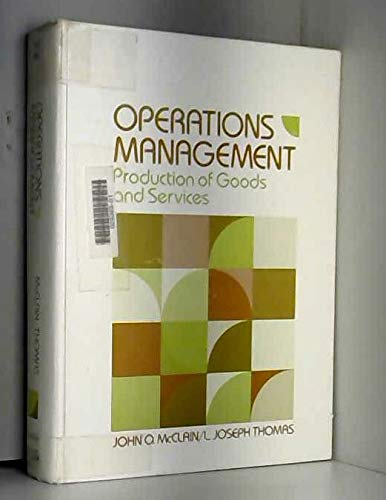 9780136375616: Operations Management: Production of Goods and Services