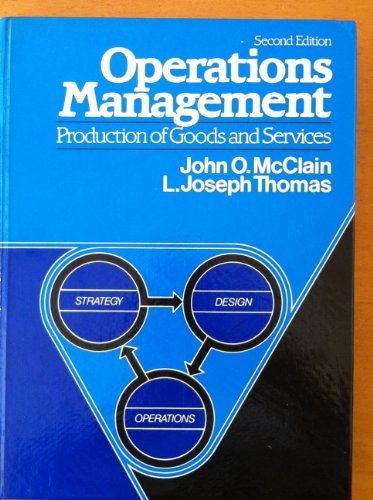 9780136376200: Operations Management: Production of Goods and Services
