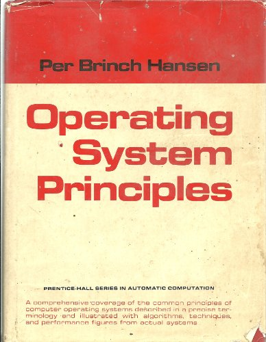 9780136378433: Operating Systems Principles (Prentice-Hall Series in Automatic Computation)