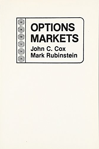 9780136382058: Options Markets