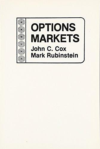 9780136382058: Options Markets
