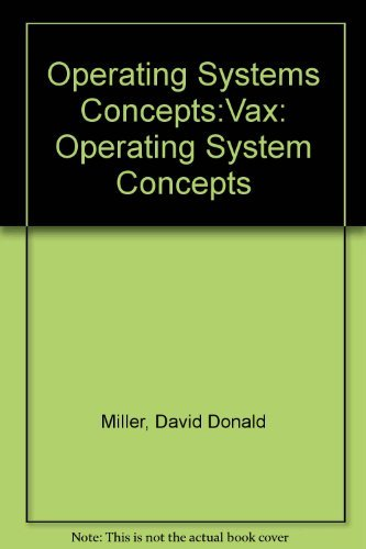 9780136388425: Operating Systems Concepts:Vax: Operating System Concepts