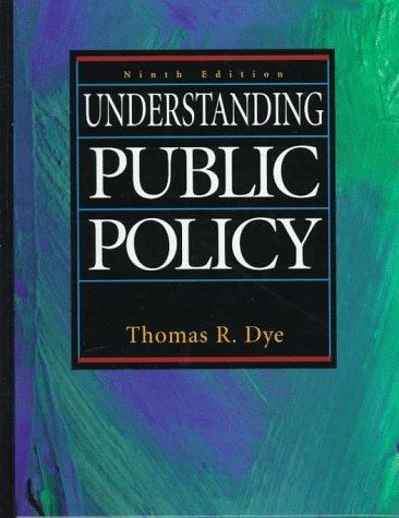9780136391050: Understanding Public Policy