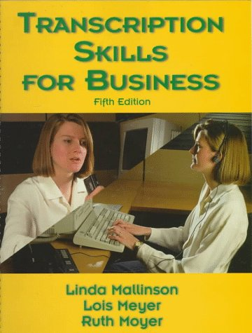 9780136395508: Transcription Skills for Business (5th Edition)