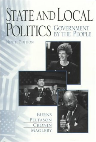 9780136395683: State and Local Politics: Government by the People
