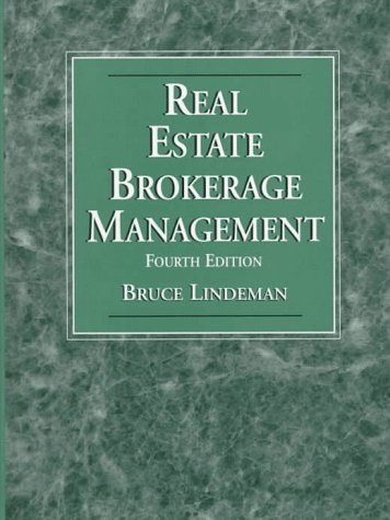 9780136396345: Real Estate Brokerage Manageme
