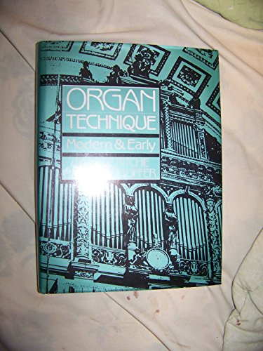 9780136398738: Organ Technique: Modern and Early