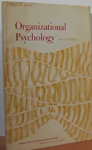 9780136411260: Organizational Psychology (Foundations of Modern Psychology)