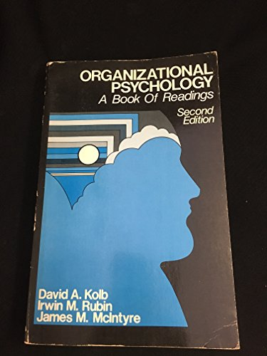9780136411673: Organizational Psychology: An Experiential Approach: Readings