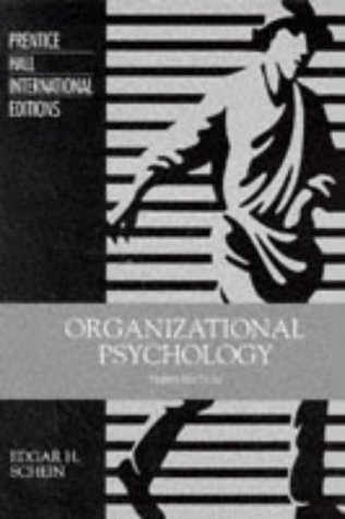 9780136411925: Organizational Psychology: International Edition (Foundations of Modern Psychology)