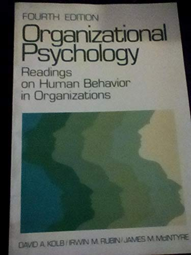 9780136412908: Organizational Psychology: Readings on Human Behavior in Organizations