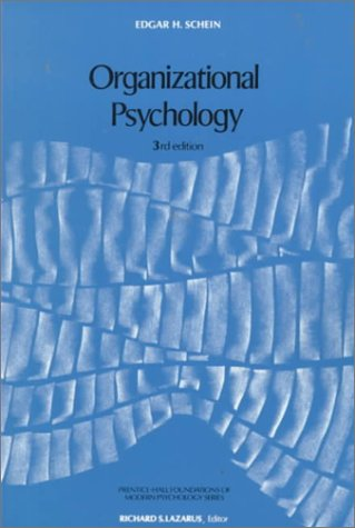 9780136413325: Organizational Psychology (Foundations of Modern Psychology)