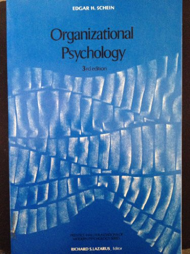 9780136413400: Organizational Psychology (Foundations of Modern Psychology)
