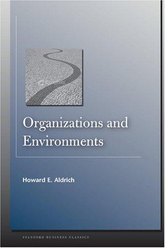 9780136414315: Organizations and Environments