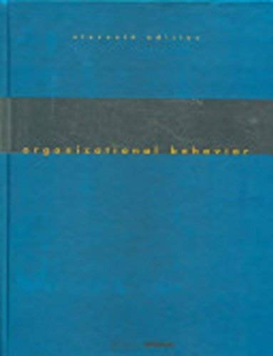 9780136414803: Organizational Behavior: Concepts, Controversies and Applications