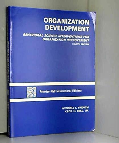 9780136417392: Organization Development: Behavioral Science Interventions for Organization Improvement