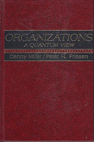 9780136419853: Organizations: A Quantum View