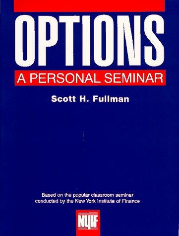 9780136435785: Options: A Personal Seminar