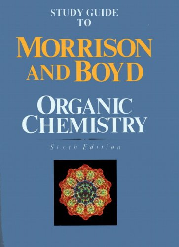 9780136436775: Study Guide to Organic Chemistry, 6th Edition