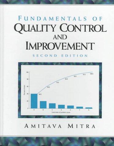 9780136450863: Fundamentals of Quality Control and Improvement: Amitava Mitra