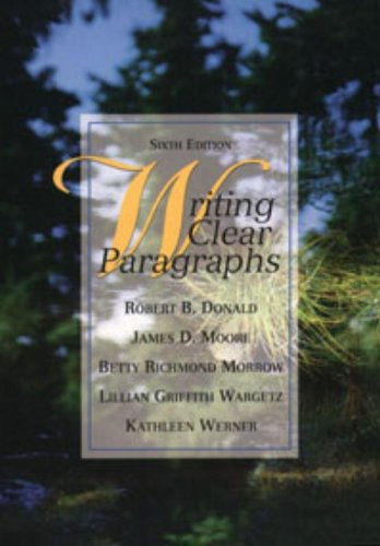 9780136465713: Writing Clear Paragraphs (6th Edition)