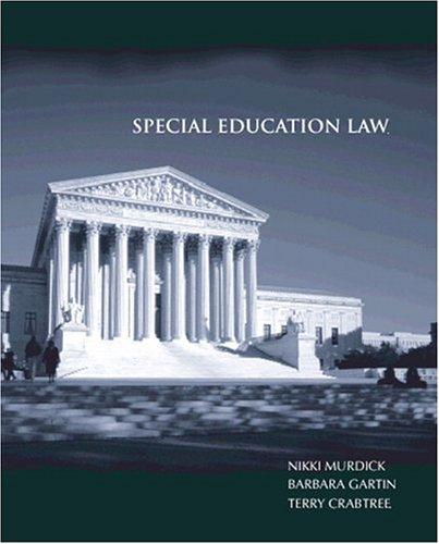 Special Education Law: Nikki L. Murdick,