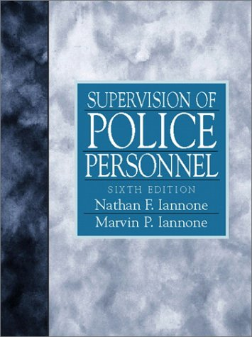 9780136492290: Supervision of Police Personnel (6th Edition)