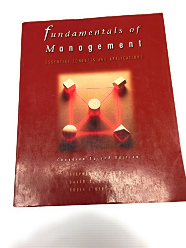 9780136493778: Fundamentals of Management: Essential Concepts and Applications
