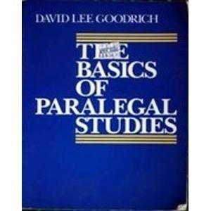 9780136504825: The Basics of Paralegal Studies