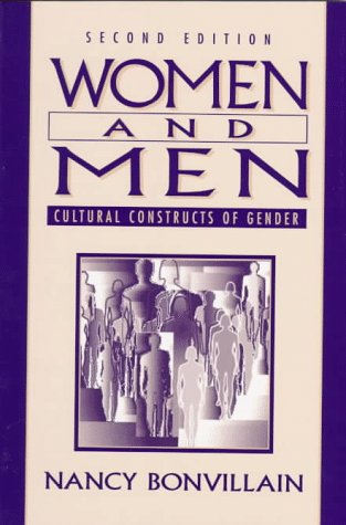 9780136510765: Women and Men: Cultural Constructs of Gender