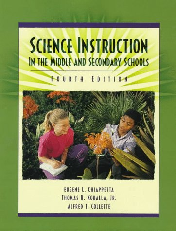 9780136511182: Science Instruction in the Middle and Secondary Schools