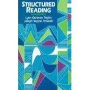 9780136519775: Structured Reading