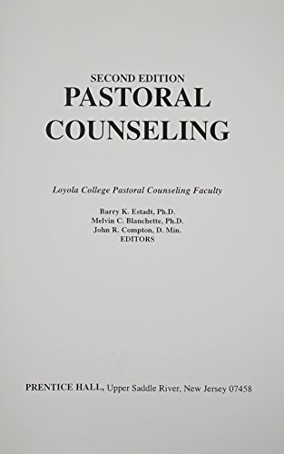 9780136530077: Pastoral Counseling