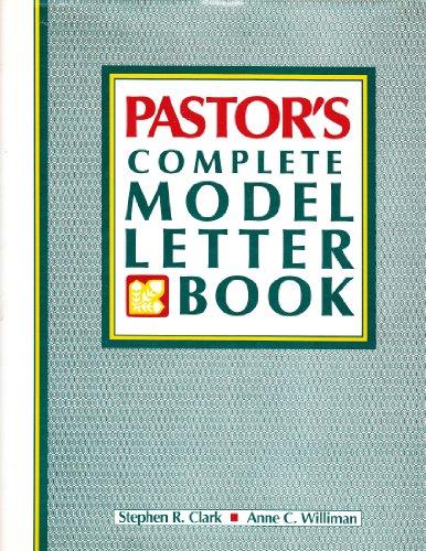 9780136533122: Pastor's Complete Model Letter Book