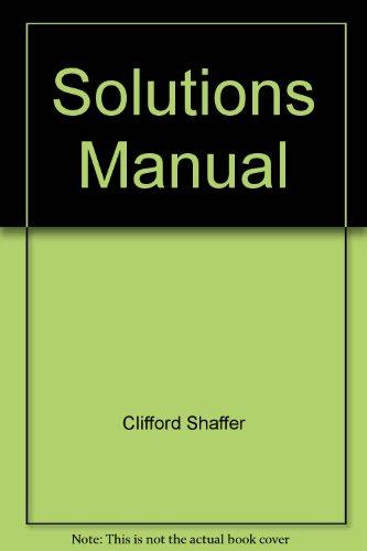 9780136537830: Solutions Manual