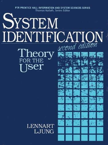 9780136566953: System Identification: Theory for the User (2nd Edition)