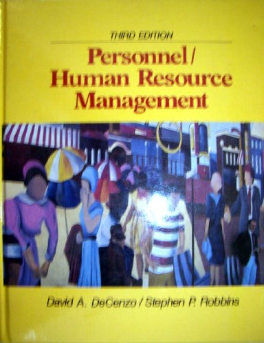 9780136571988: Personnel/Human Resource Management