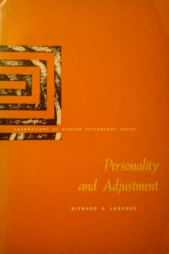 9780136577003: Personality and Adjustment