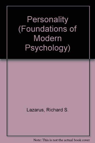 9780136579083: Personality (Foundations of Modern Psychology)