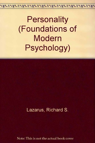 9780136579168: Personality (Foundations of Modern Psychology)