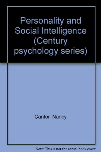 9780136579663: Personality and Social Intelligence (Century psychology series)