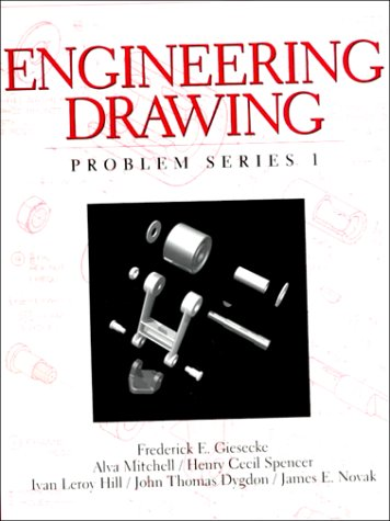 9780136585367: Engineering Drawing, Problem Series 1