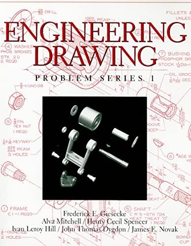 9780136585367: Engineering Drawing, Problem Series 1