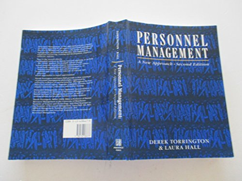 9780136586678: Personnel Management: A New Approach