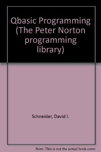 9780136587668: QBasic Programming (The Peter Norton Programming Library)